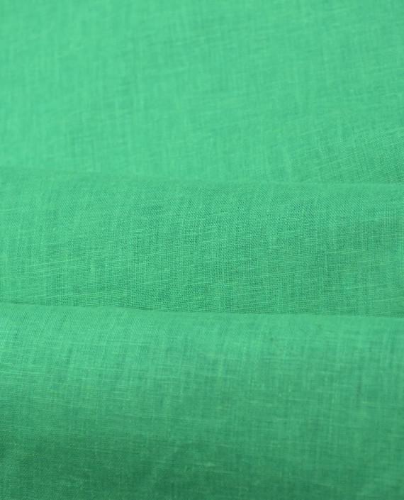 Лен Рубашечный 0832 цвет зеленый картинка 2