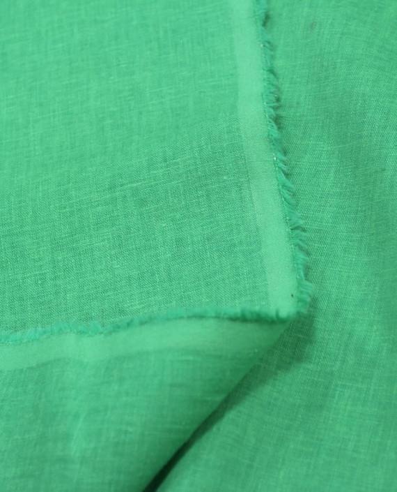 Лен Рубашечный 0832 цвет зеленый картинка 1