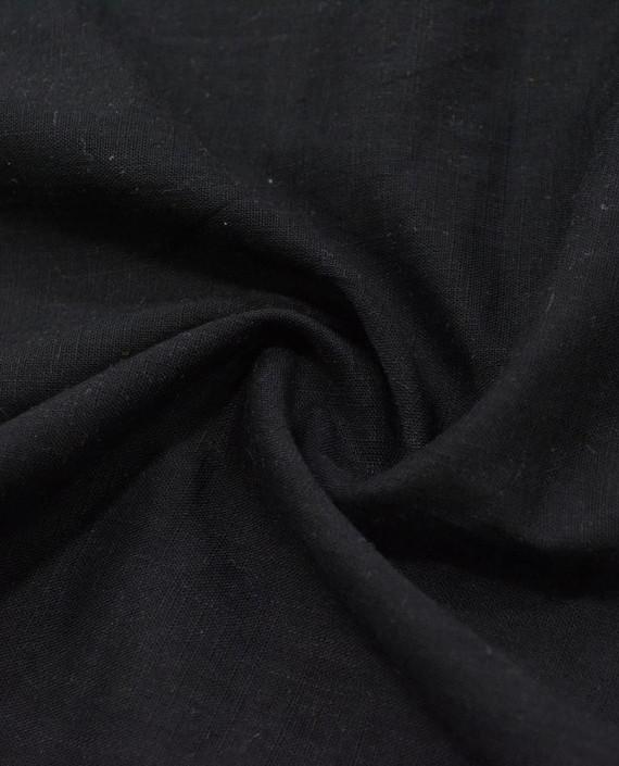 Лен Рубашечный 0839 цвет черный картинка