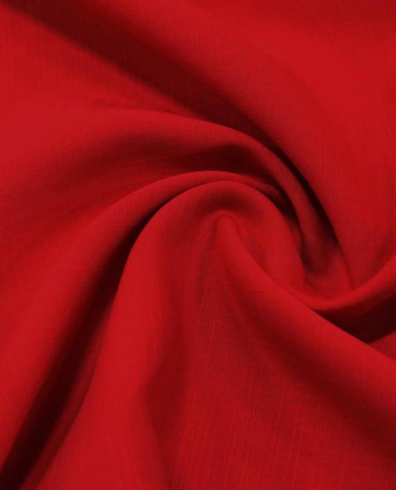 Лен Рубашечный 0851 цвет красный картинка