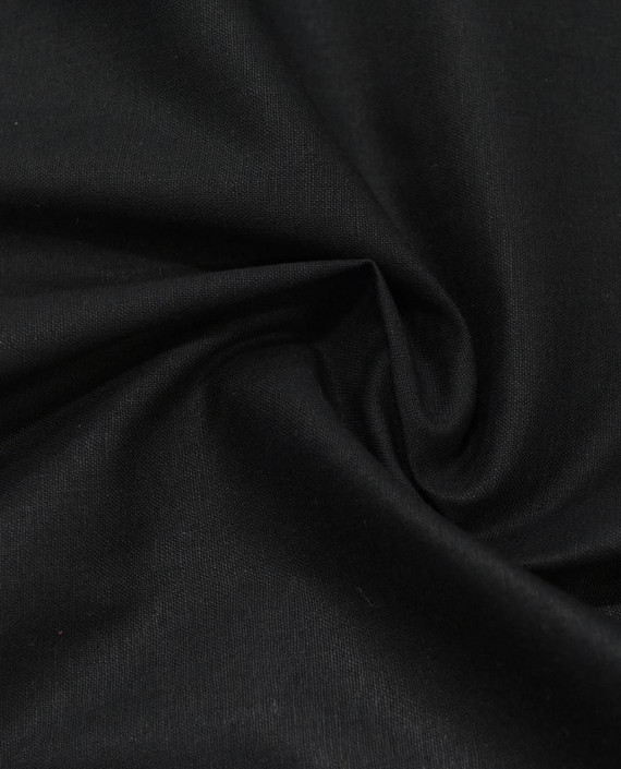 Лен Рубашечный 0871 цвет черный картинка
