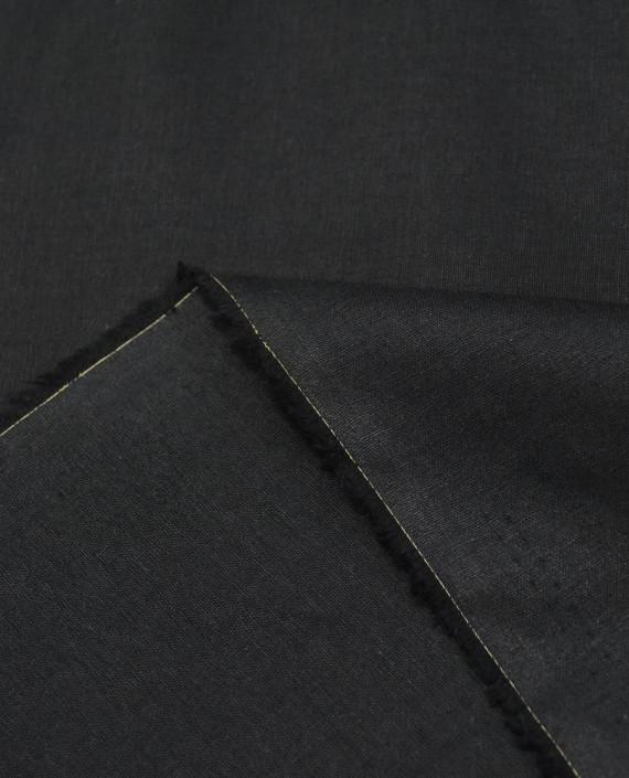 Лен Рубашечный 0871 цвет черный картинка 1