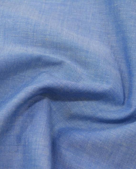 Лен рубашечный 0879 цвет голубой картинка