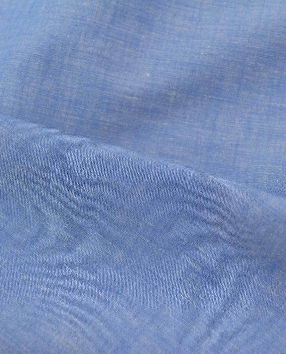 Лен рубашечный 0879 цвет голубой картинка 2