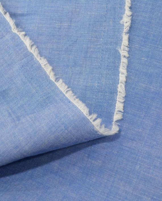Лен рубашечный 0879 цвет голубой картинка 1