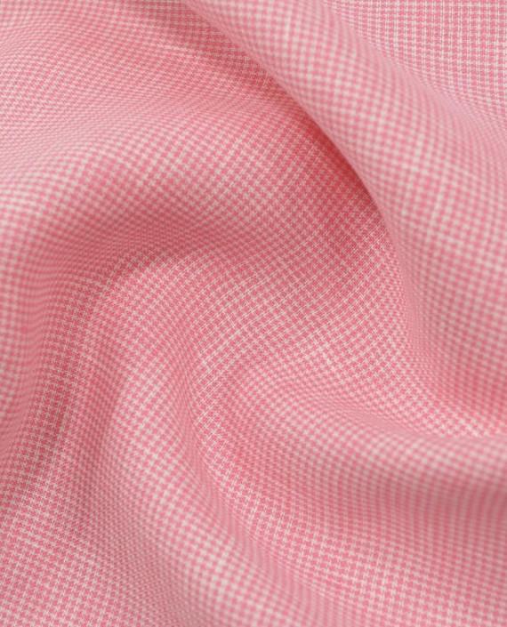Лен рубашечный 0880 цвет розовый гусиная лапка картинка