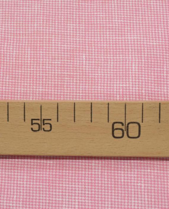 Лен рубашечный 0880 цвет розовый гусиная лапка картинка 1