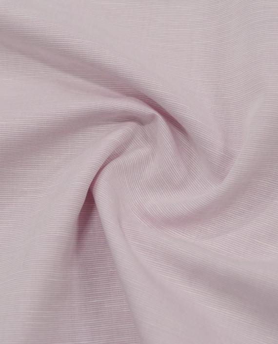 Лен рубашечный 0881 цвет розовый полоска картинка