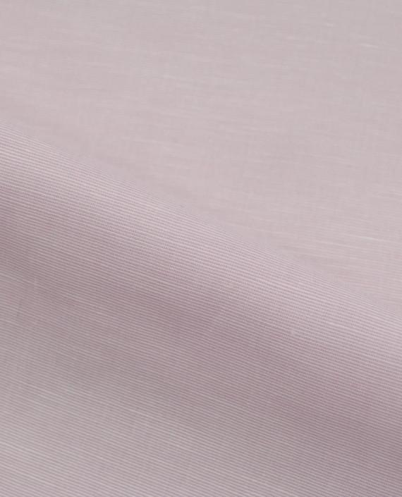 Лен рубашечный 0881 цвет розовый полоска картинка 2