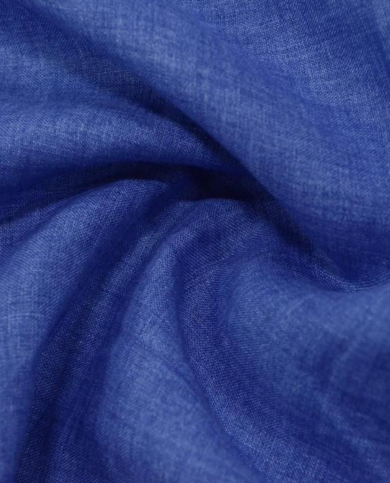 Лен рубашечный 0882 цвет синий картинка