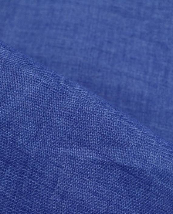 Лен рубашечный 0882 цвет синий картинка 1