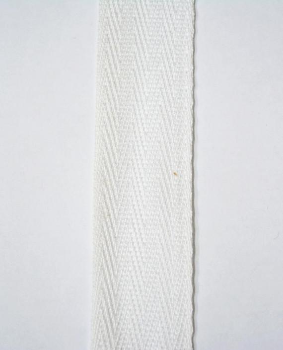 Лента киперная 25 мм 0730 цвет белый картинка