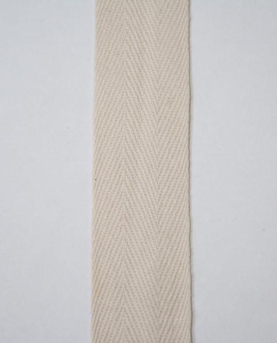 Лента киперная 25 мм 0731 цвет айвори картинка