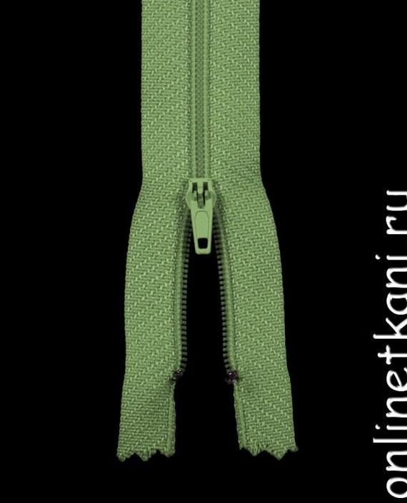 Молния пластик 20 см 20014 цвет зеленый картинка 2