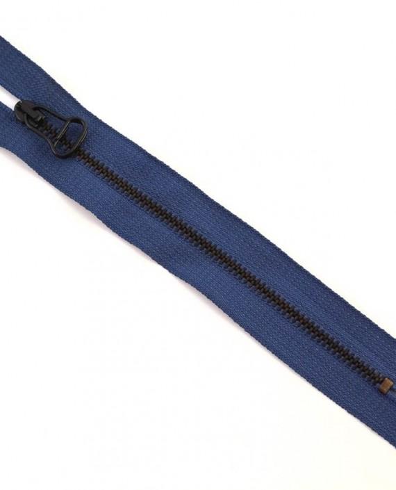 Молния 15 см металл, неразъемная 0042 цвет синий картинка