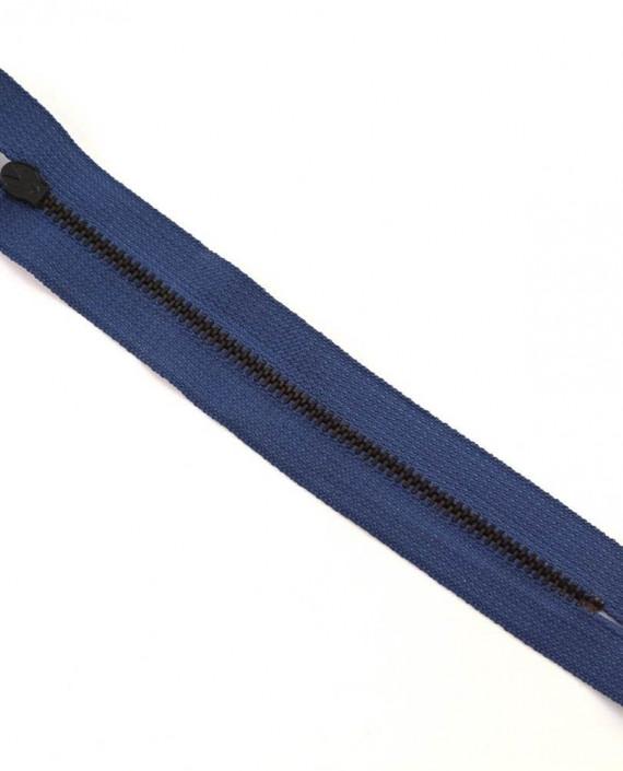 Молния 15 см металл, неразъемная 0042 цвет синий картинка 2