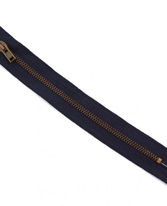 Молния 18 см металл, неразъемная 0065 цвет фиолетовый картинка