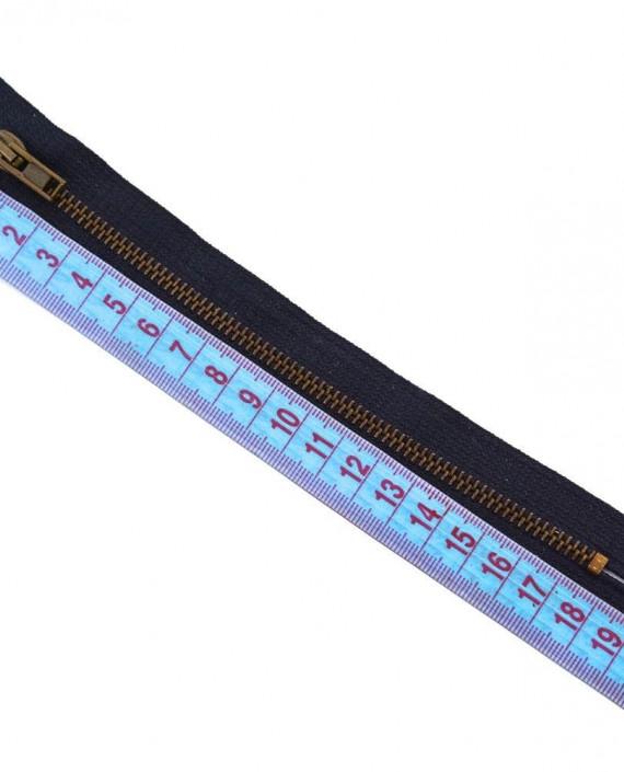 Молния 18 см металл, неразъемная 0065 цвет фиолетовый картинка 1