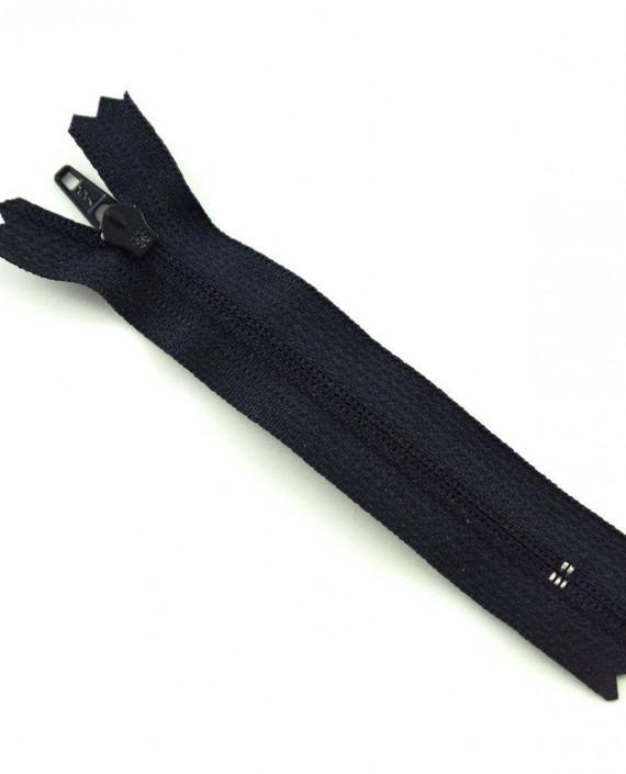 Молния 10 см пластик, неразъемная 0470 цвет черный картинка 1