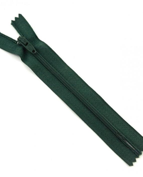 Молния 12 см пластик, неразъемная 0483 цвет зеленый картинка
