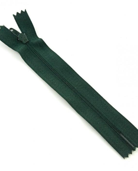 Молния 12 см пластик, неразъемная 0483 цвет зеленый картинка 1