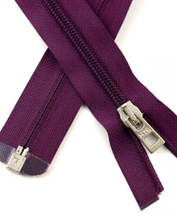 Молния 80 см пластик, разъемная 0929 цвет фиолетовый картинка