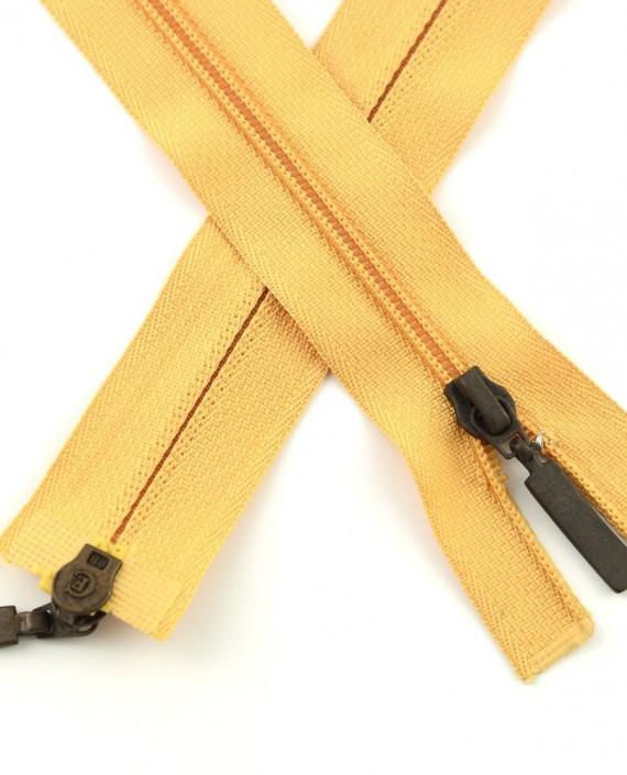 Молния 99 см пластик, двухзамковая 0952 цвет желтый картинка