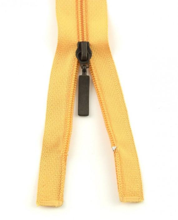 Молния 99 см пластик, двухзамковая 0952 цвет желтый картинка 2