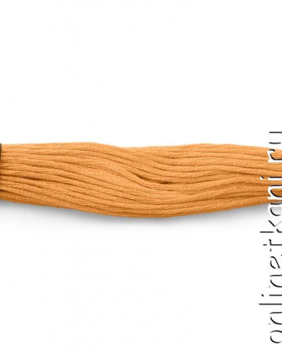Нитки мулине 003 цвет бежевый картинка 2