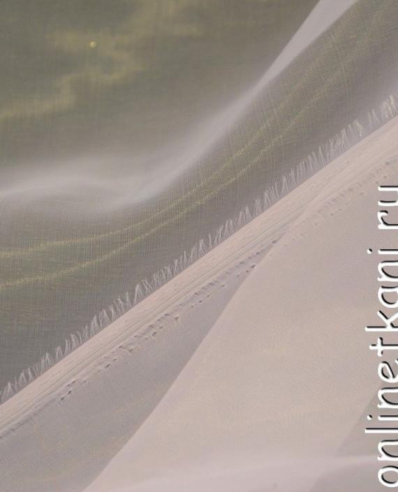 Ткань Органза 028 цвет белый картинка 1