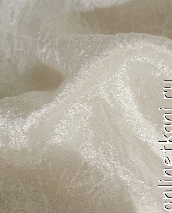 Ткань Тафта 106 цвет белый картинка 2