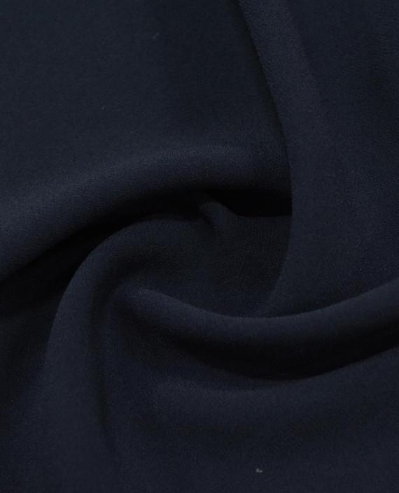 Костюмная креповая 1063 цвет синий картинка