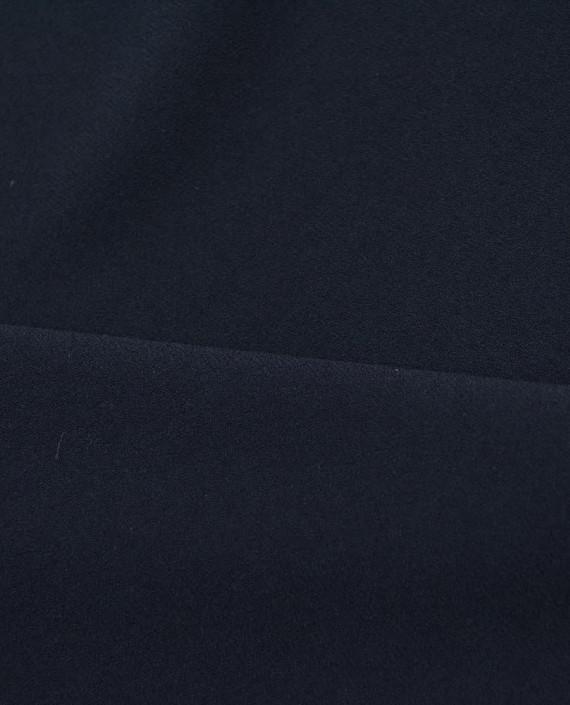 Костюмная креповая 1063 цвет синий картинка 2