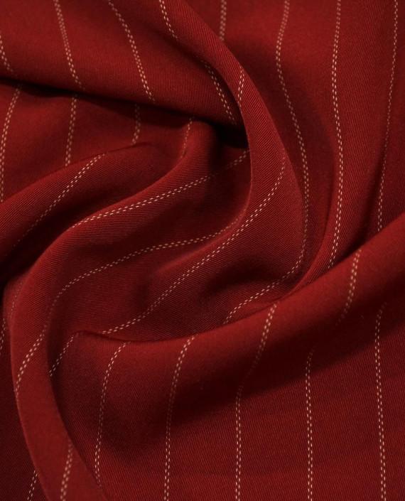Костюмная 1066 цвет красный полоска картинка