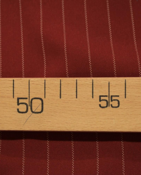 Костюмная 1066 цвет красный полоска картинка 2