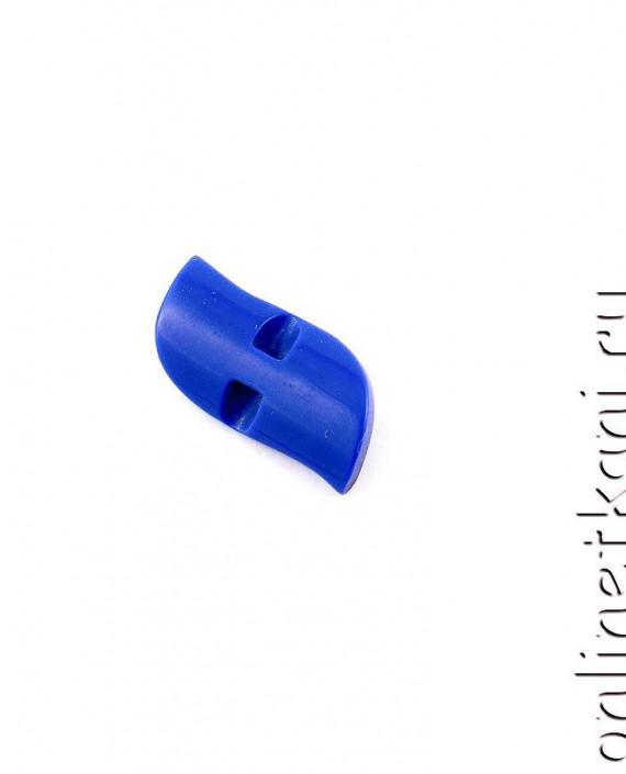 Пуговица 065 цвет синий картинка 2