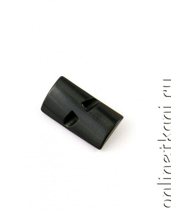 Пуговица 100 цвет черный картинка 2