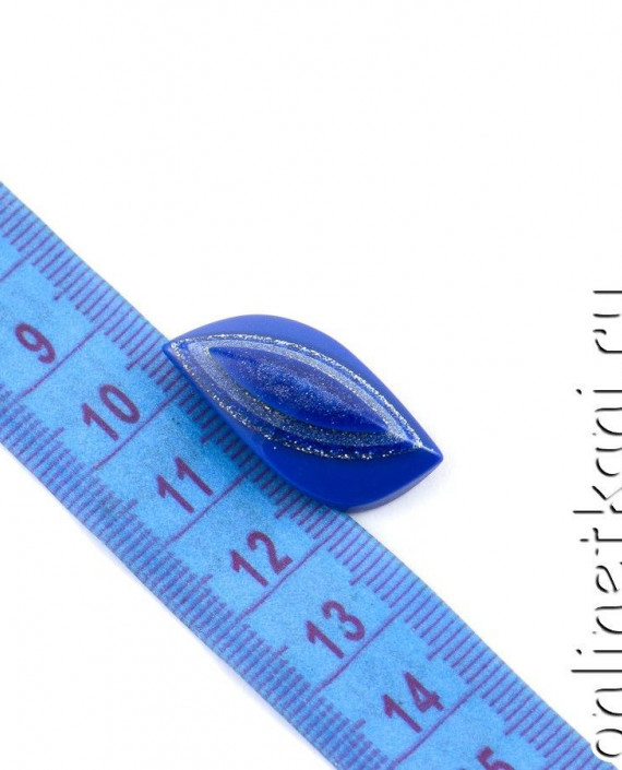 Пуговица 109 цвет синий картинка 1