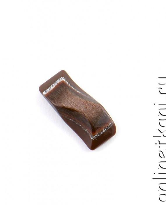 Пуговица 119 цвет коричневый картинка