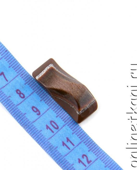 Пуговица 119 цвет коричневый картинка 1