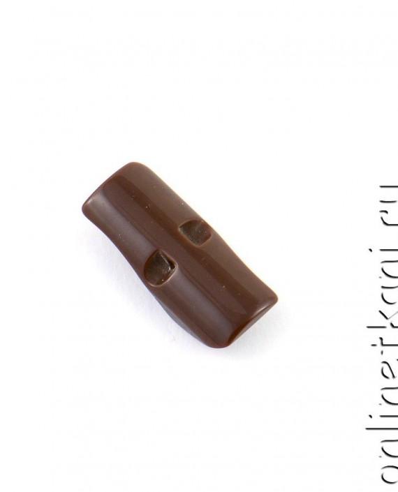 Пуговица 119 цвет коричневый картинка 2