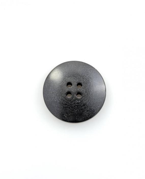Пуговица 26 мм 146 цвет черный картинка