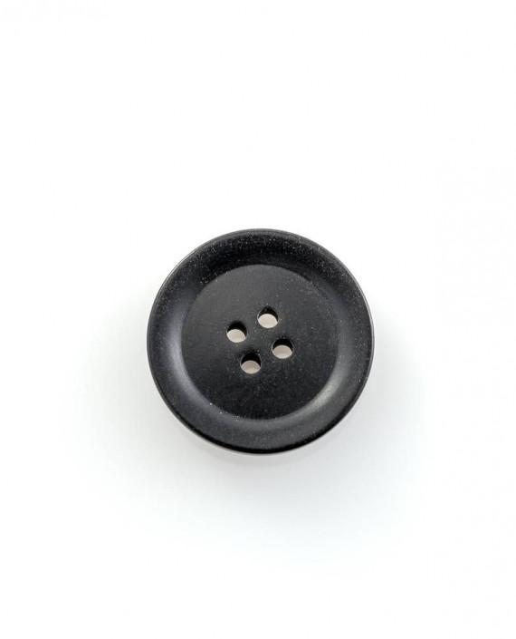 Пуговица 26 мм 146 цвет черный картинка 2