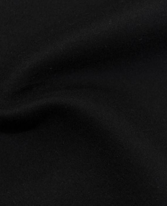 Ткань Шерсть Пальтовая 2249 цвет черный картинка