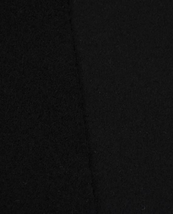 Ткань Шерсть Пальтовая 2249 цвет черный картинка 1