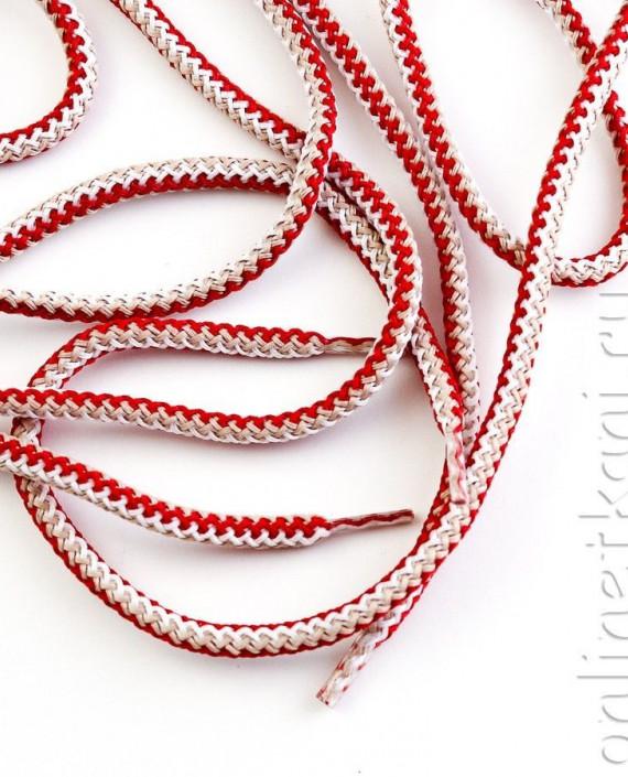 Шнурок круглый 006 цвет разноцветный картинка 2