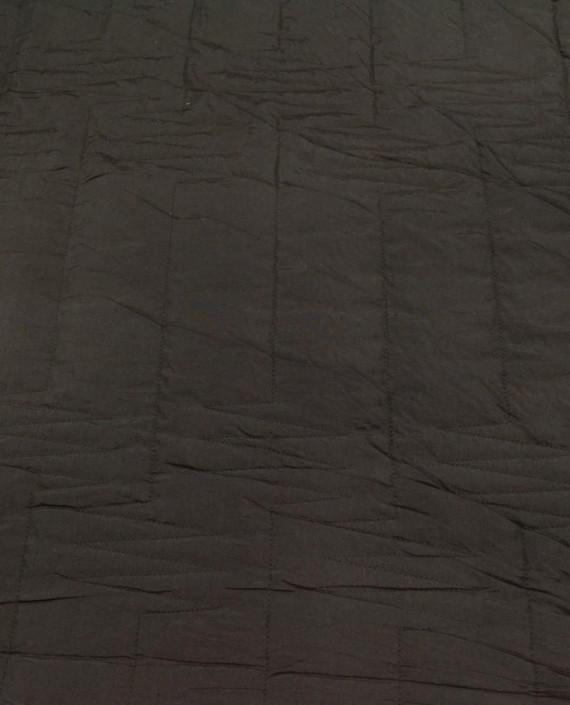Курточная Стеганная 138 цвет коричневый геометрический картинка