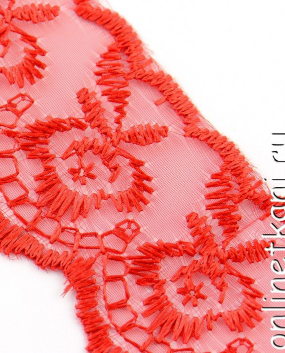 Тесьма 137 цвет красный картинка 1