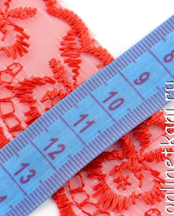 Тесьма 137 цвет красный картинка 2