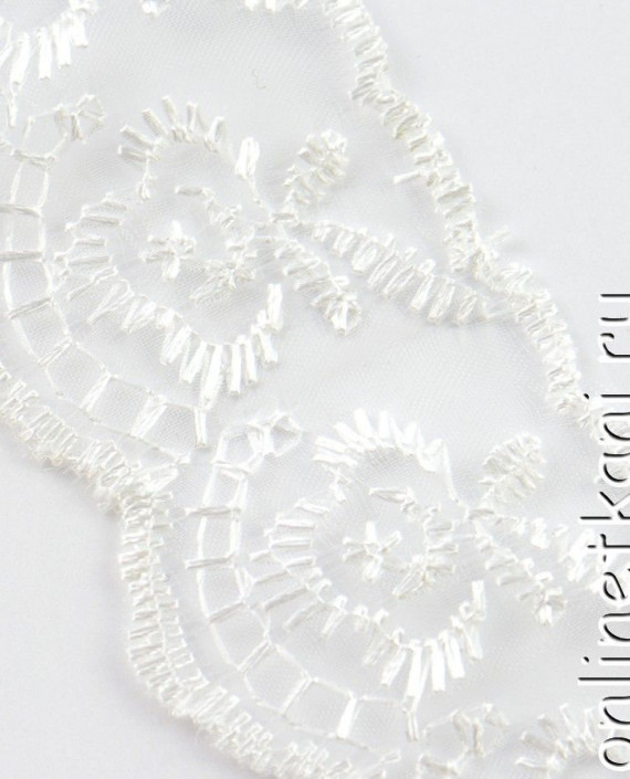 Тесьма 139 цвет белый картинка 1